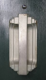 art deco door pulls...