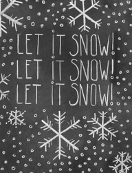 let it snow christma