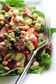 Chopped Steak Salad