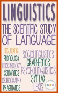 #linguistics...
