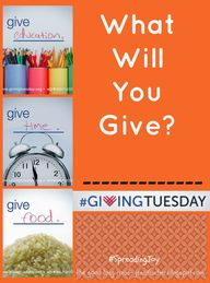 {Ten for #GivingTues
