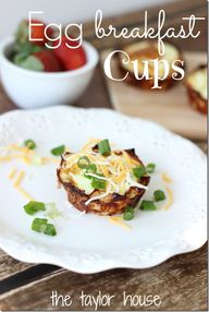 Egg Breakfast Cups -