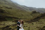 Iceland wedding by N