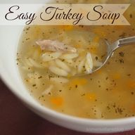 Easy Turkey soup mad