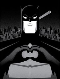 Batman Love Sign