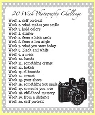 photo challenge, may