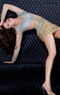 $154.92 sexy party dress from zzkko.com