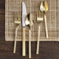 West Elm Gold Flatwa