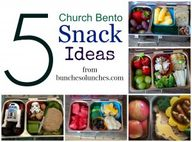 5 Church Bento Snack...