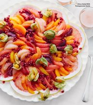 winter citrus salad,