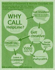 WHY CALL HELPLINE Ca