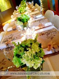 Tablescape at Brave