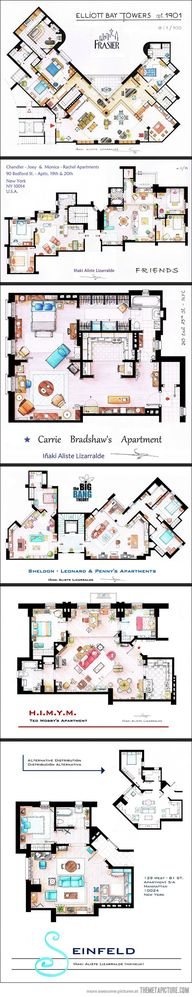 Floor plans from TV...