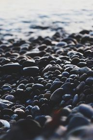 Rocky beach. | japan