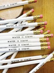 New pencils for all