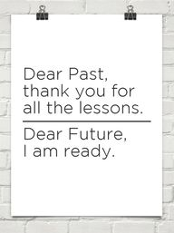 dear past thank you