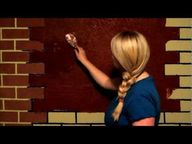 DIY Textured Brick W