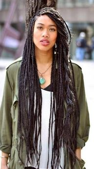 Long Box Braids...