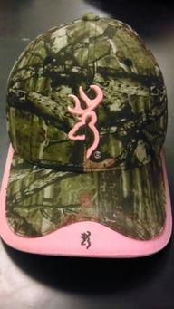 Pink buckmark with c