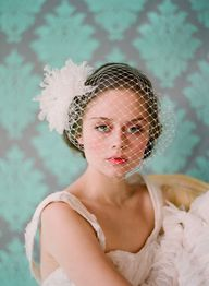 French bandeau veil