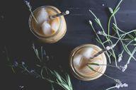 Lavender Honey Iced