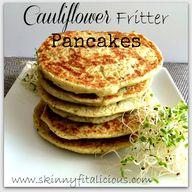 Cauliflower Fritter