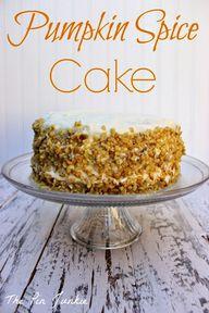 Pumpkin Spice Cake #