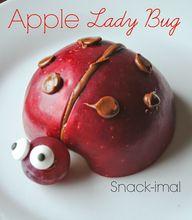 Apple Lady Bug Snack
