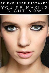 eyeliner tips...