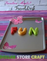 Make a travel desk u