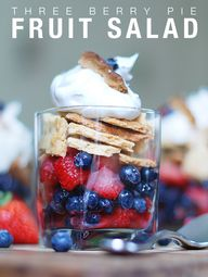 Three Berry Pie Frui