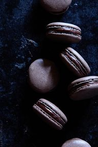 Coffee Macarons via