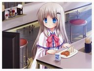 Anime girl eating Ke...