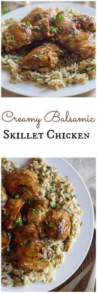 Creamy Balsamic Skil
