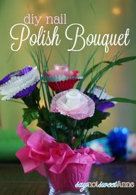Nail Polish Bouquet