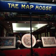 The map house in Lon