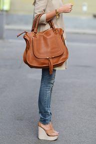 Chloe bag and wedges