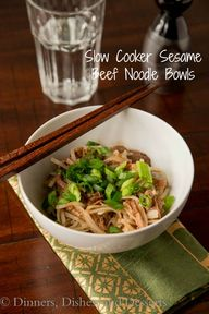 Slow Cooker Sesame B