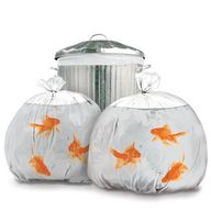 Goldfish Garbage Bag
