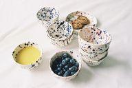 spekled ceramics