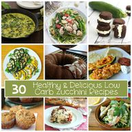 30 Low Carb Zucchini