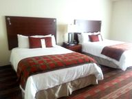 We were very happy a