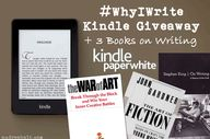 #WhyIWrite GIVEWAY: