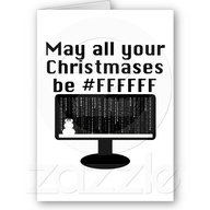 Geek Christmas Card