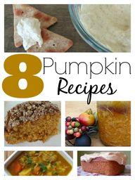 Pumpkin Recipe Round