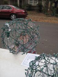 chicken wire Christm