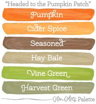 Fall Color Palette