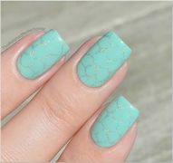 Subtle Stamped Mint