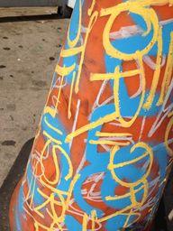 Graffiti on a cone i