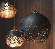 paint ornaments blac